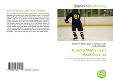 Buchcover von Toronto Maple Leafs Head Coaches