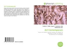 Bookcover of Art Contemporain