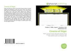 Bookcover of Cinema of Niger
