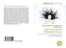 Portada del libro de Type A and Type B Personality Theory