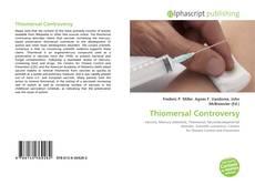 Buchcover von Thiomersal Controversy