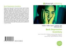 Bookcover of Beck Depression Inventory