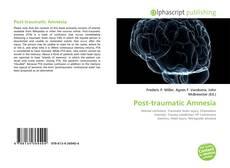 Обложка Post-traumatic Amnesia