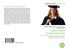 Copertina di Math–Verbal Achievement Gap