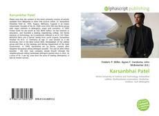 Bookcover of Karsanbhai Patel