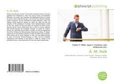 A. M. Naik的封面