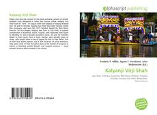 Bookcover of Kalyanji Virji Shah
