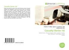 Capa do livro de Casualty (Series 16)