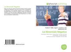 Loi Binomiale Négative kitap kapağı