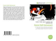 Portada del libro de Dance Hall (Jamaican)
