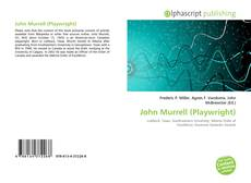 Bookcover of John Murrell (Playwright)