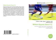 Portada del libro de Milton Keynes Dons F.C.