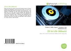 Обложка 25 to Life (Album)