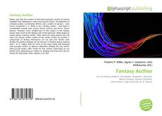 Bookcover of Fantasy Author