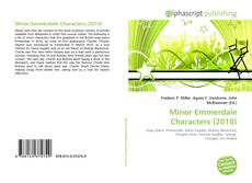 Bookcover of Minor Emmerdale Characters (2010)
