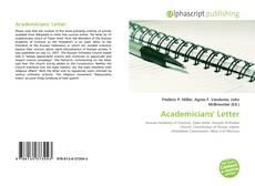 Borítókép a  Academicians' Letter - hoz