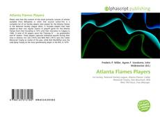 Bookcover of Atlanta Flames Players