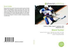 Buchcover von Brent Sutter