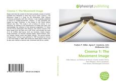 Bookcover of Cinema 1: The Movement Image