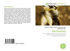 Bookcover of Mel Kendrick