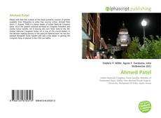 Couverture de Ahmed Patel