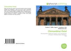 Bookcover of Chimanbhai Patel