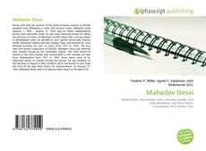 Bookcover of Mahadev Desai