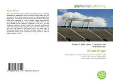 Bookcover of Kiran More