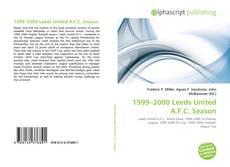 Capa do livro de 1999–2000 Leeds United A.F.C. Season