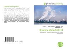 Borítókép a  Dinshaw Maneckji Petit - hoz