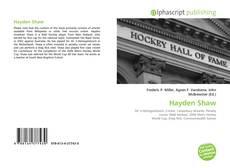 Capa do livro de Hayden Shaw
