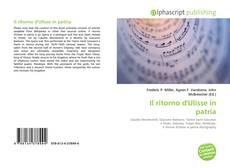 Bookcover of Il ritorno d'Ulisse in patria