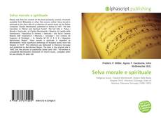 Portada del libro de Selva morale e spirituale