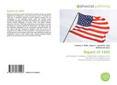 Обложка Report of 1800