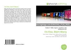 Bookcover of I'm Fine, Don't Worry