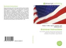 Bookcover of Braintree Instructions