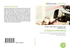 Portada del libro de A Flame in the Wind