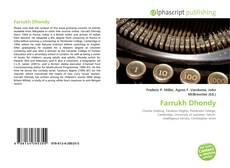 Copertina di Farrukh Dhondy
