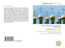 Couverture de Mikhail of Tver