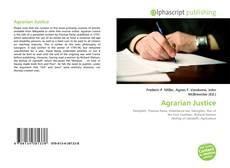 Borítókép a  Agrarian Justice - hoz