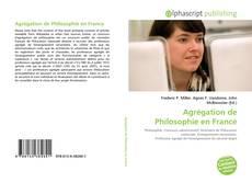 Bookcover of Agrégation de Philosophie en France