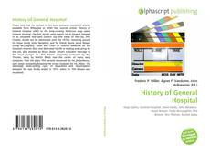 Bookcover of History of General Hospital