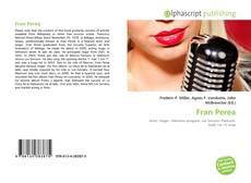 Portada del libro de Fran Perea