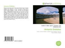 Antonio Ordóñez的封面