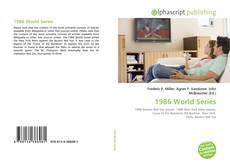 Bookcover of 1986 World Series