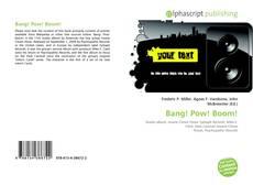 Bang! Pow! Boom! kitap kapağı