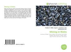 Обложка Mining in Wales