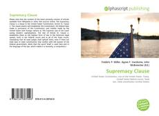 Capa do livro de Supremacy Clause