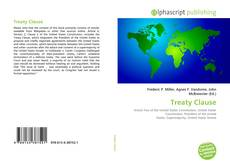 Capa do livro de Treaty Clause