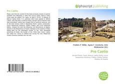 Couverture de Pro Caelio